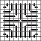 Triangle Stitch, copyright Napa Needlepoint