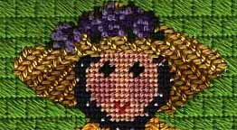 provencal lady needlepoint hat