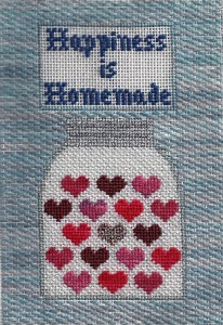 happiness is homemade petei needlepoint canvas