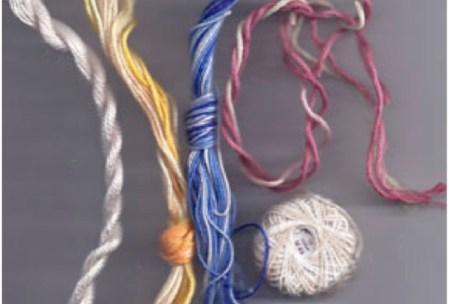 cotton needlepoint threads