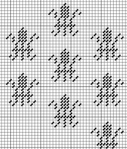 needlepoint damask fleur de lis chart