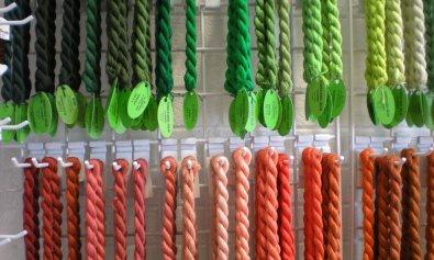 yarn explosion, vineyard silk