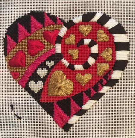 Heart Health Stitch-a-long in Detroit