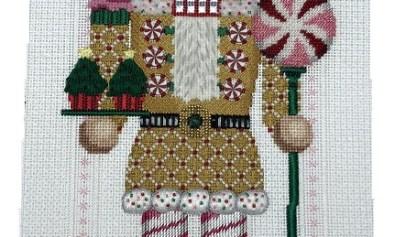Susan Roberts needlepoint nutcracker
