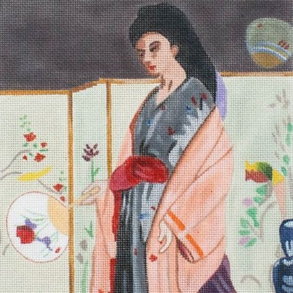 Fine Art Needlepoint Class in Philly
