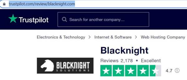 Blacknight Hosting Review
