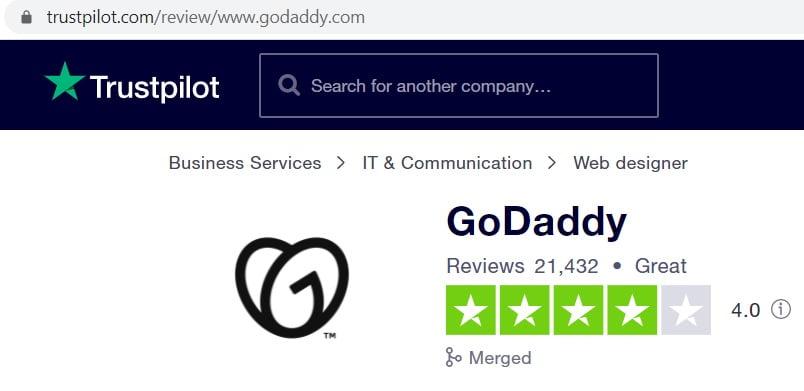 godaddy reviews india