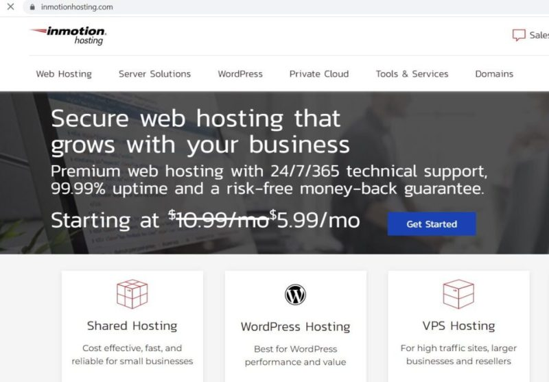 reviews of inmotion hosting company