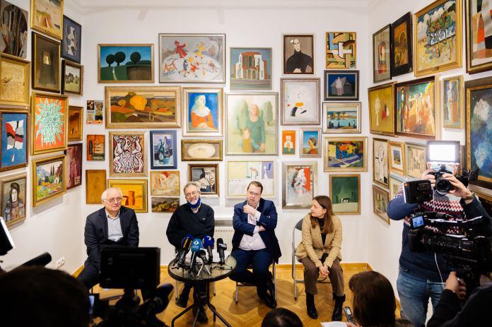 картины одесских художников в Центре Помпиду