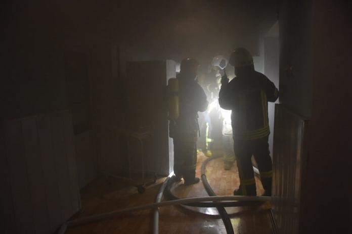 Одесса: потушен пожар в роддоме