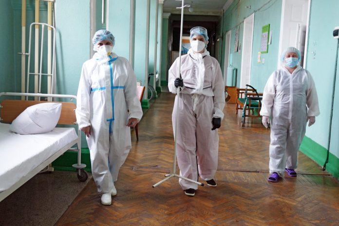 Doctors at Ivano-Frankivsk Clinical Hospital