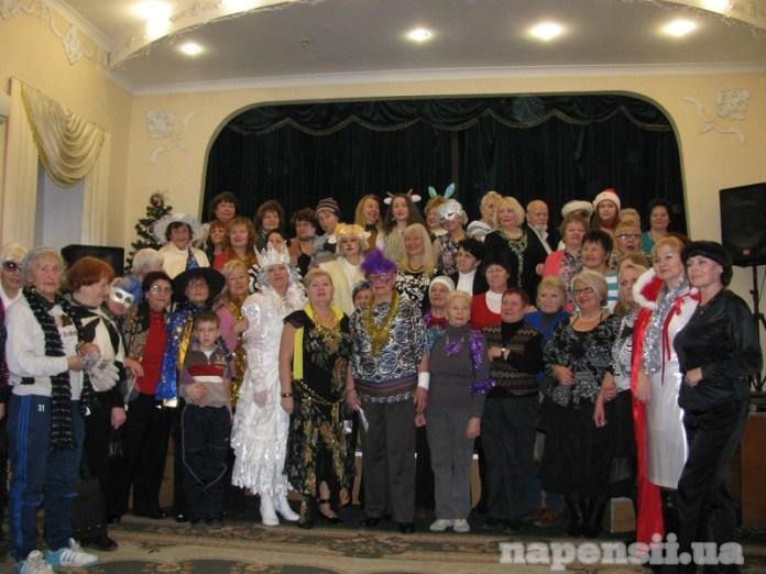 Как одесские студенты- пенсионеры Новый год встречали