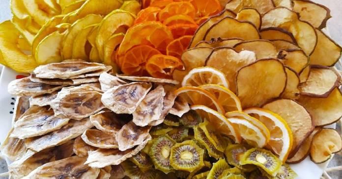 чипсы фруктовые
