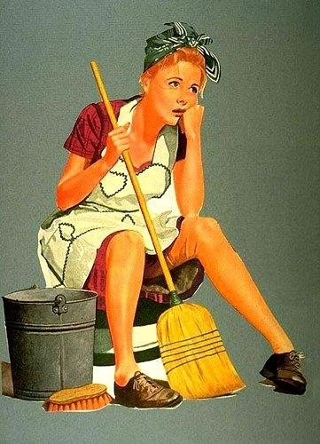 Работа для девушек уборщица девушка на работе странно себя ведет
