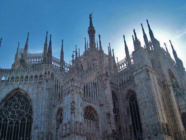 Just a normal part of my daily routine, seeing the Duomo