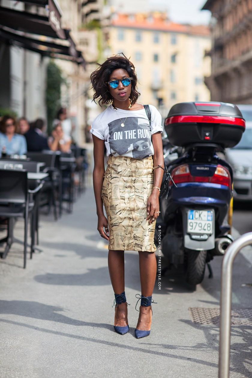 Back in Milan, September 2014. Photo courtesy of Stockholm Streetstyle.