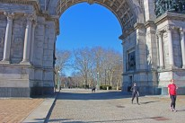 Grand Army Plaza, French influence is clear