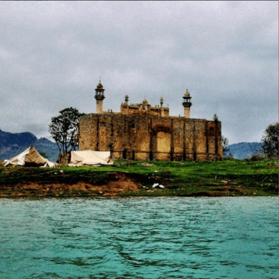 Khanpur Dam - Abandoned Mosque Islands