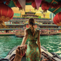 I've never been to Hong Kong, but this image is giving me the urge to book now! @muradosmann