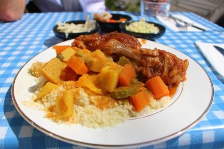 Chicken dish at Anat's Kitchen in Kerem HaTeimanim. So good the chicken falls off the bone.