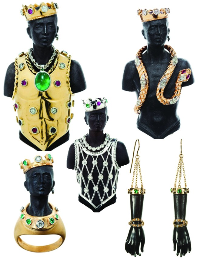 Wilfredo Rosada Blackamoor Collection