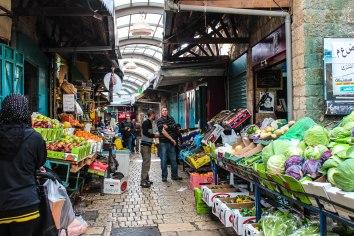 open air bazaar
