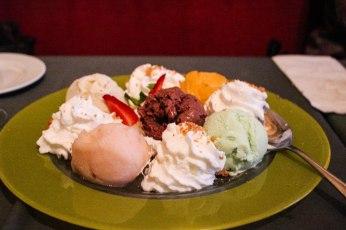 delicious home made icecreams