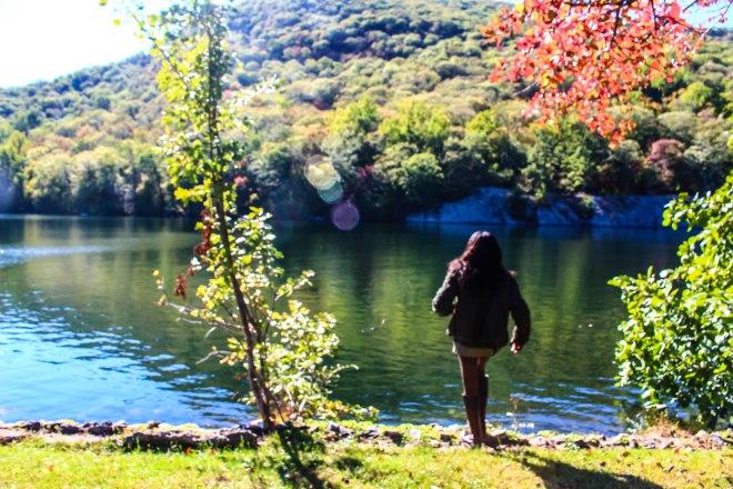 Nneya Richards at the Lake