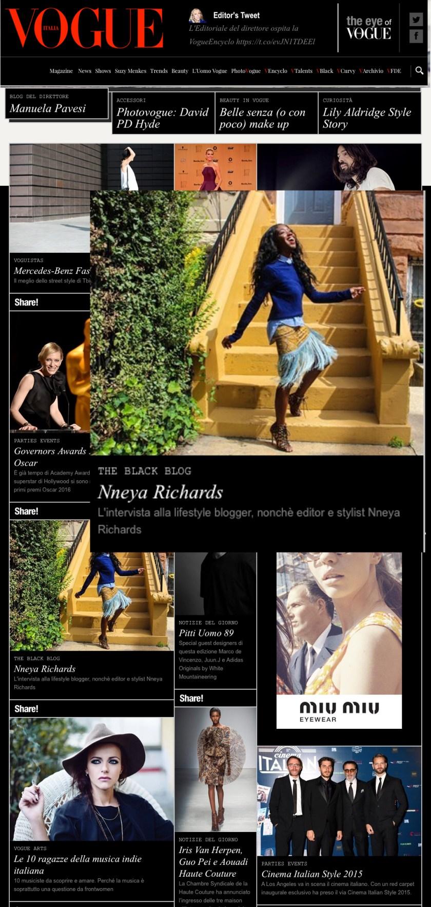 Vogue.it - 11.16 - edit