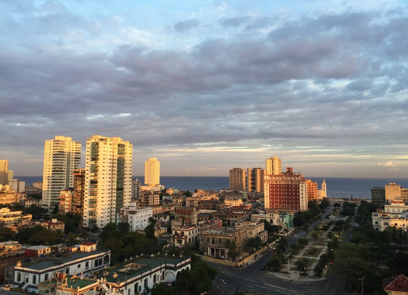 Sunrise from Vedado by Heather Walker