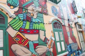 Mural in Haji Lane