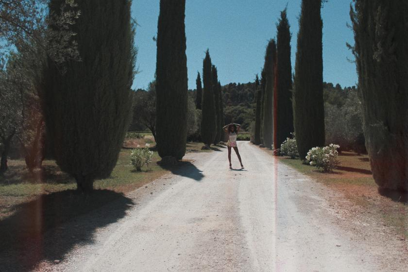 Pucci in Provence Driveway