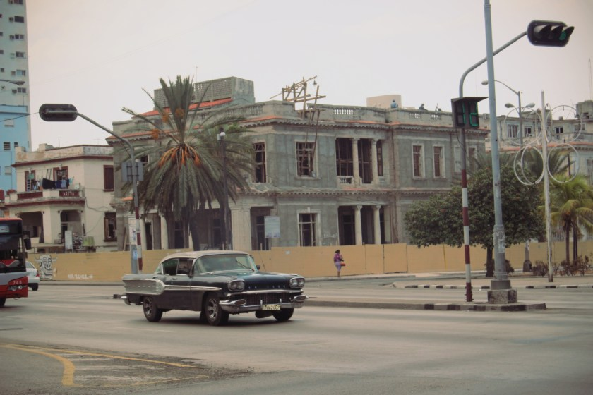 10 Blk Car Cruisin in Havana by Nneya Richards