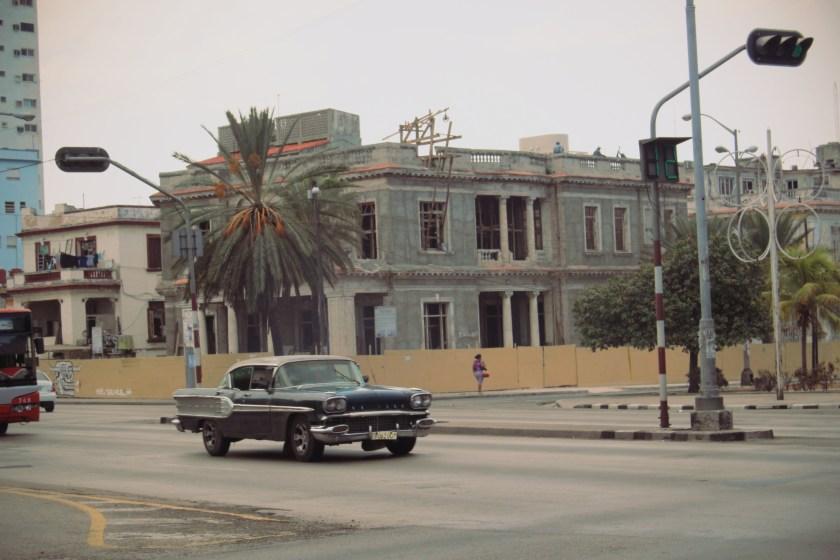 10 Blk Car Cruisin in Havana by Nneya Richards