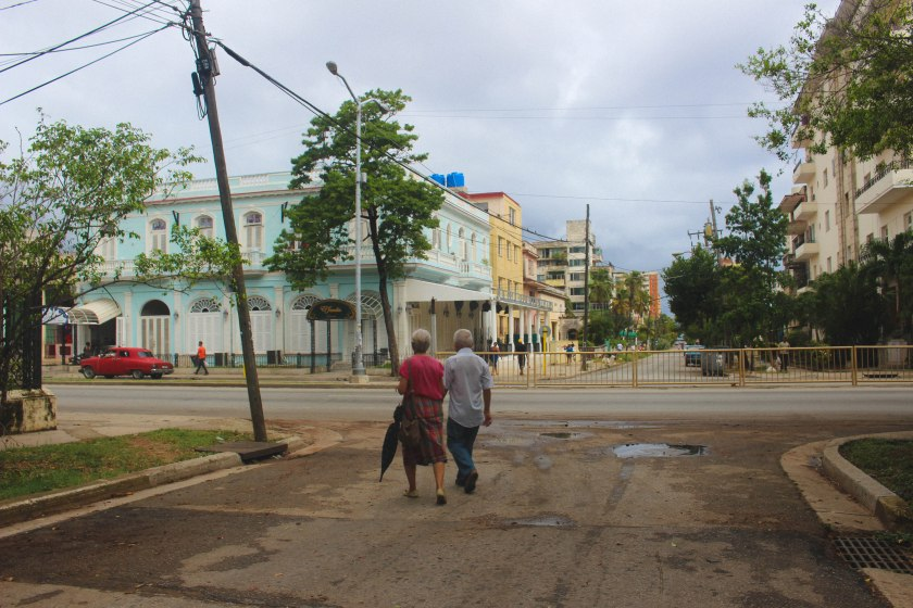 28 older couple in Vedado by Nneya Richards