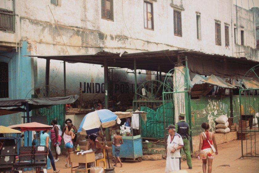 43 Outside Rations Market in Centro Habana by Nneya Richards