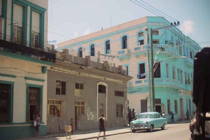 45 Centro Havana Turquoise by Nneya Richards