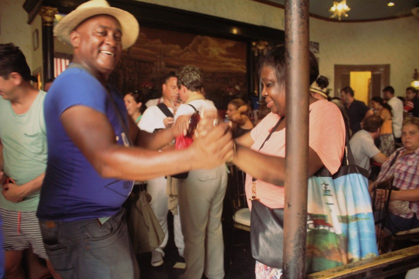 74 Dancing in Hemingway Bar by Nneya Richards