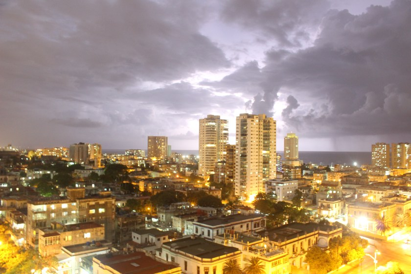 80 Vedado at Night by Nneya Richards