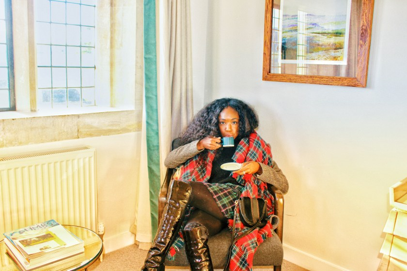 Sipping tea in the Cotswolds by Nneya Richards.JPG