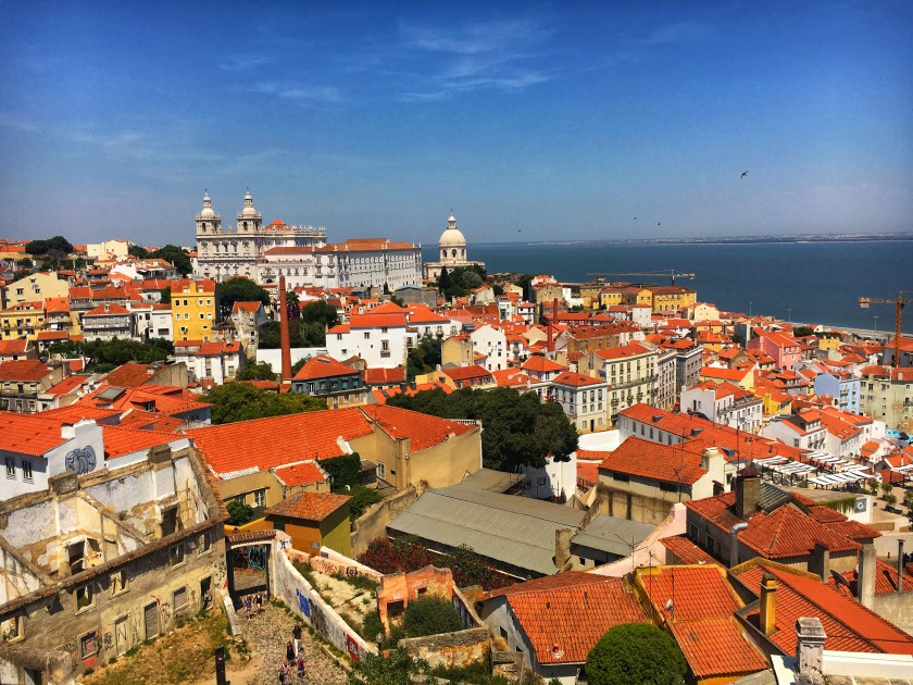Over looking Lisbon Alfama by Nneya Richards.JPG