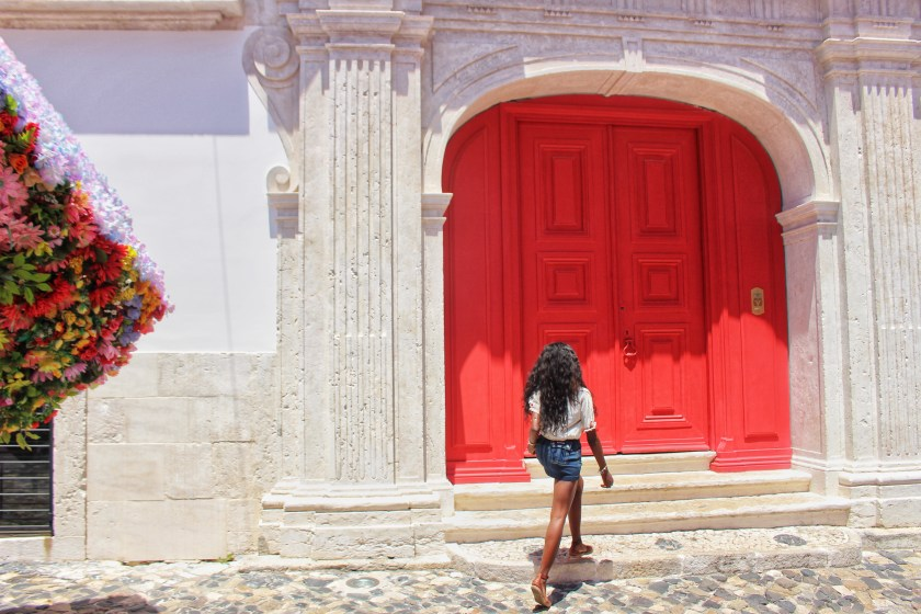 Walking into entrance of palacio belmonte by Nneya Richards