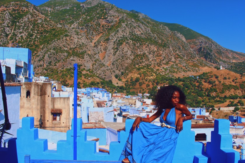 Nneya in Chefchaouen by Michele Scaglione