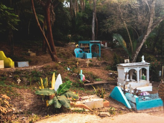 Sayulita Graveyard by Nneya Richards