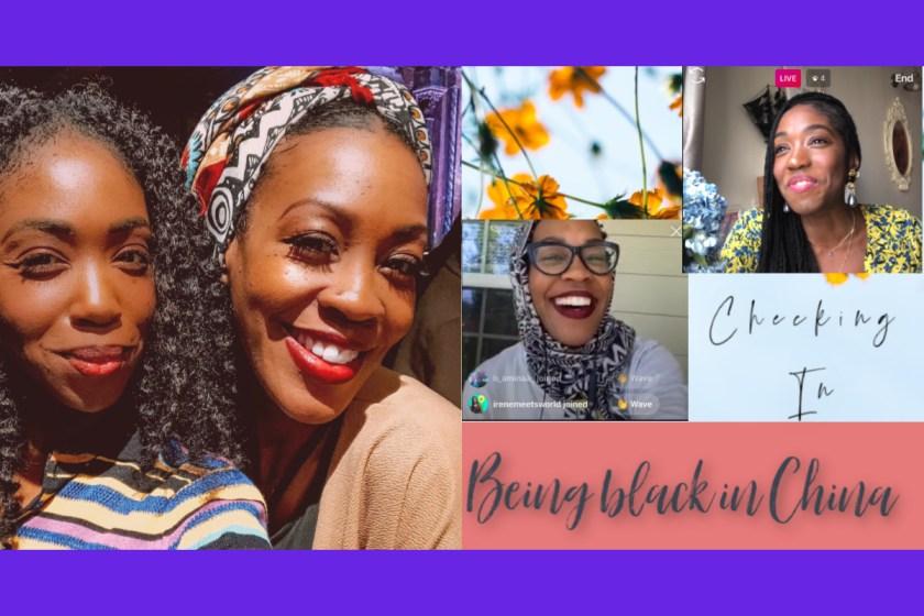Nneya and Imani Collage