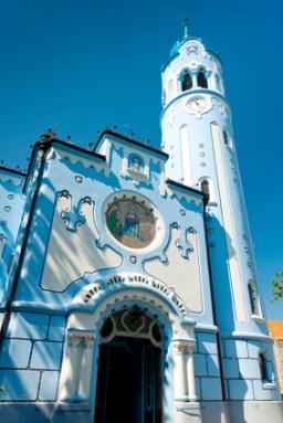 Church of Saint Elizabeth Hungarian, also called Blue Church