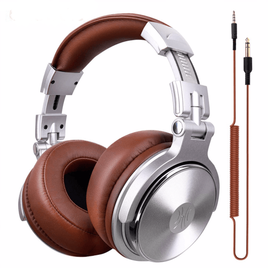 Professional Studio Headphones With Microphone