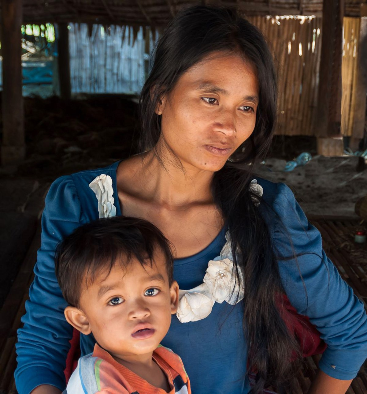 Cambodian Mother and Child_Janet White
