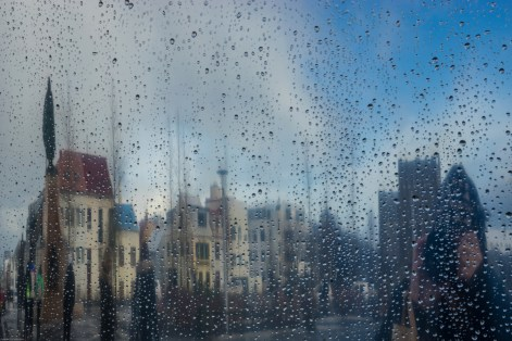 Rainy Day in Reykjavik by Cynthia Stein