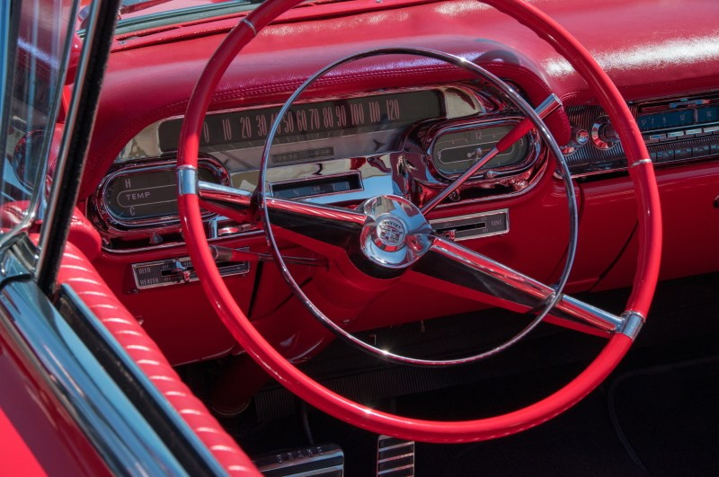 Red Caddy by Trevor Lemoine